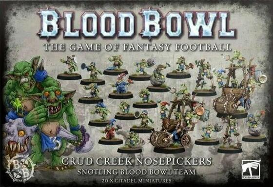 Blood Bowl: The Game of Fantasy Football - Crud Creek Nosepickers