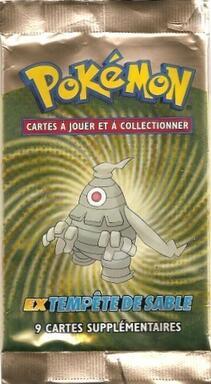 Pokémon: EX - Tempête de Sable - Booster