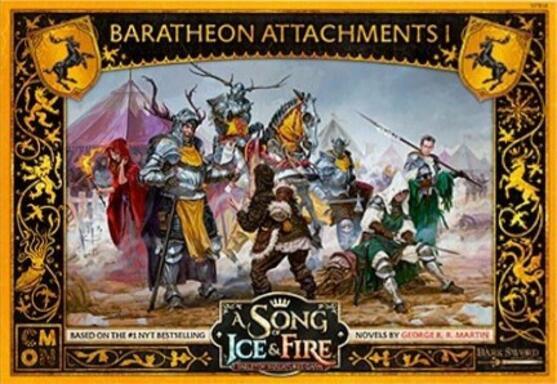 Le Trône de Fer: Le Jeu de Figurines - Attachements Barathéon I