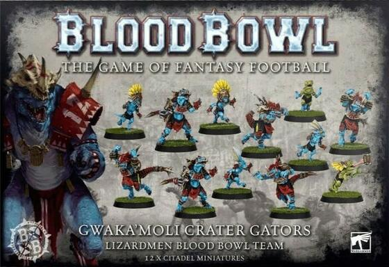 Blood Bowl: The Game of Fantasy Football - Gwaka'moli Crater Gators