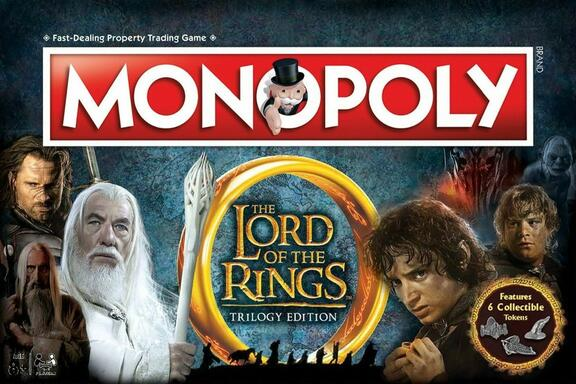 Monopoly: The Lord of the Rings - Trilogy Edition