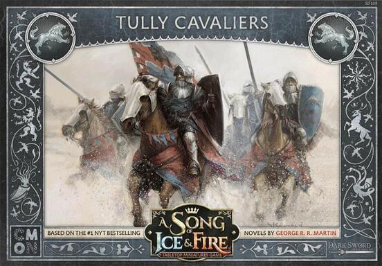 Le Trône de Fer: Le Jeu de Figurines - Cavaliers de la Maison Tully