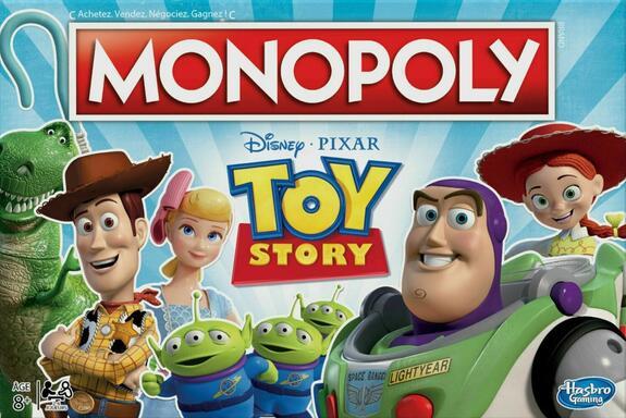 Monopoly: Disney Pixar - Toy Story