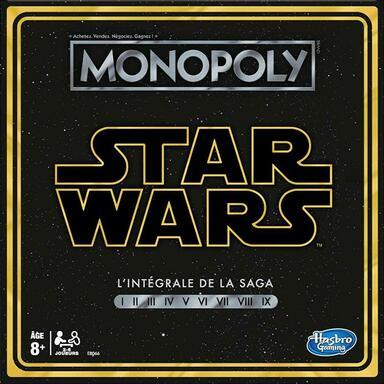 Monopoly: Star Wars - L'Intégrale de la Saga