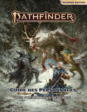 Pathfinder: Seconde Édition - Guide des Personnages des Prédictions Perdues