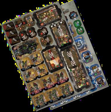 Warhammer 40,000: Heroes of Black Reach - Vanguard Squad & Freebooterz