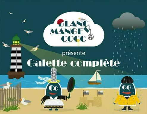 Blanc Manger Coco: Galette Complète