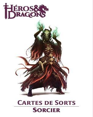 Héros & Dragons: Cartes de Sorts - Sorcier