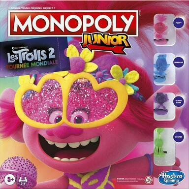 Monopoly: Junior - Les Trolls 2 - Tournée Mondiale
