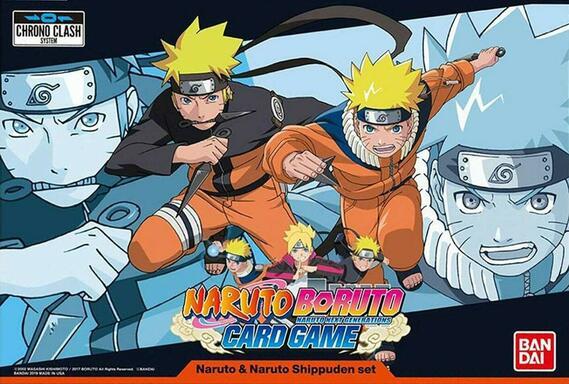 Naruto Boruto: Card Game - Naruto & Naruto Shippuden Set