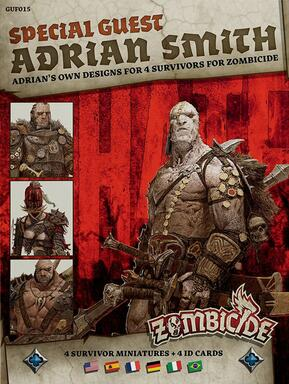 Zombicide: Black Plague - Special Guest - Adrian Smith