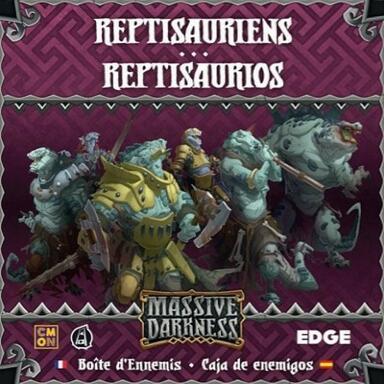 Massive Darkness: Boîte d'Ennemis - Reptisauriens