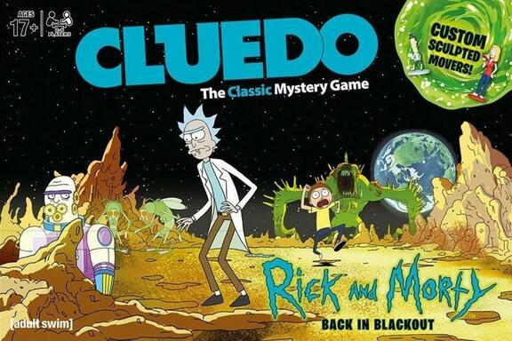 Cluedo: Rick and Morty