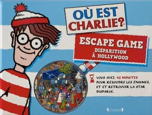 Escape Game: Où est Charlie ? Disparition à Hollywood