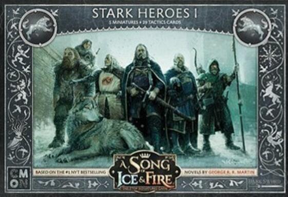 Le Trône de Fer: Le Jeu de Figurines - Héros Stark I