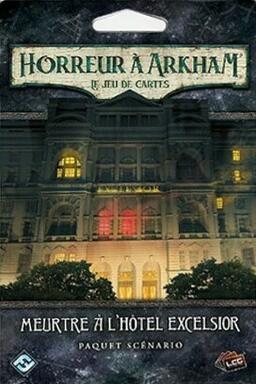 Horreur à Arkham: Le Jeu de Cartes - Meurtre à l'Hôtel Excelsior