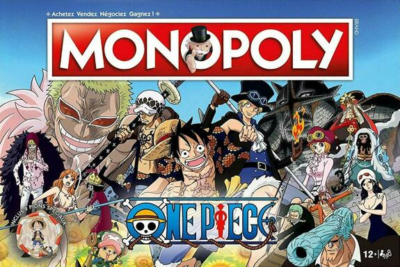 One Piece Monopoly Board Game Brand New In Stock