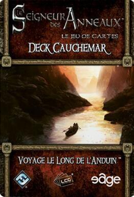 Le Seigneur des Anneaux: Le Jeu de Cartes - Deck Cauchemar - Voyage le Long de l'Anduin
