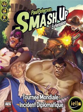 Smash Up: Tournée Mondiale - Incident Diplomatique