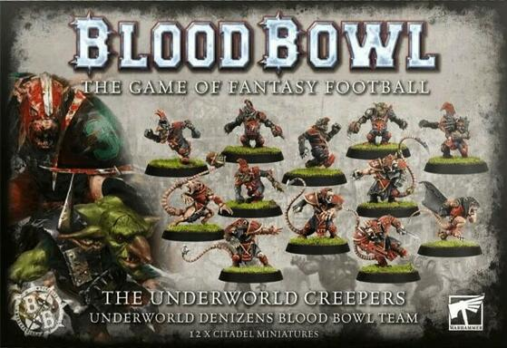 Blood Bowl: Le Jeu de Football Fantastique - The Underworld Creepers