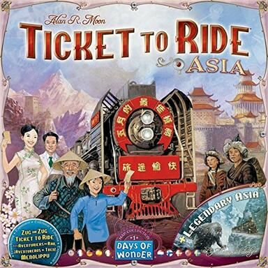Ticket to Ride: Map Collection 1 - Asia & Legendary Asia
