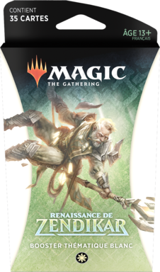 Magic: The Gathering - Renaissance de Zendikar - Booster Thématique Blanc
