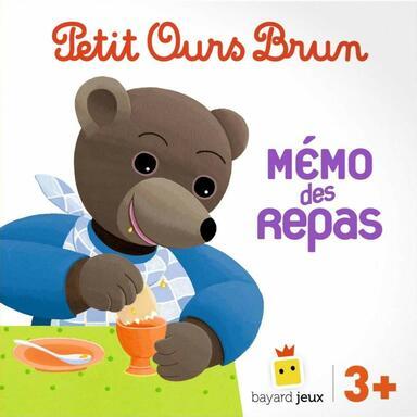 Petit Ours Brun: Mémo des Repas
