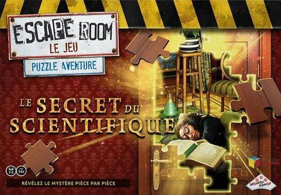 Escape Room: Le Jeu - Puzzle Aventure - Le Secret du Scientifique