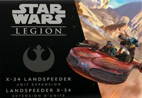 Star Wars: Légion - X-34 Landspeeder