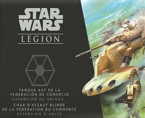 Star Wars: Légion - Char d'Assaut Blindé de la Fédération du Commerce