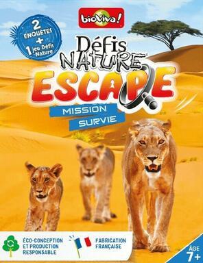 Défis Nature: Escape - Mission Survie