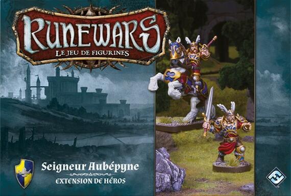 Runewars: Le Jeu de Figurines - Seigneur Aubépyne