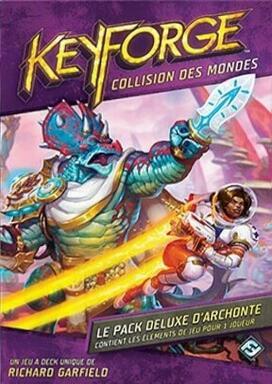 Keyforge: Collision des Mondes - Le Pack Deluxe d'Archonte