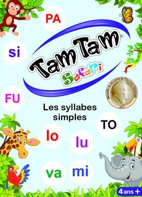 Tam Tam: Safari - Les Syllabes Simples