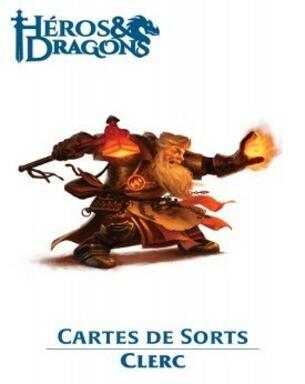 Héros & Dragons: Cartes de Sorts - Clerc