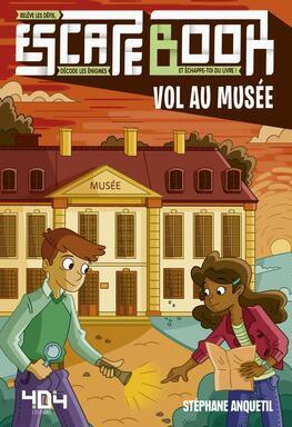 Escape Book: Vol au Musée