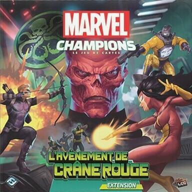 Marvel Champions: Le Jeu de Cartes - L'Avènement de Crâne Rouge