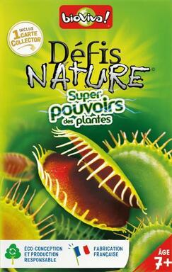 Défis Nature: Super Pouvoirs des Plantes
