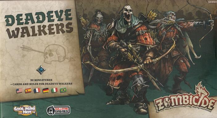 Zombicide: Black Plague - Deadeye Walkers