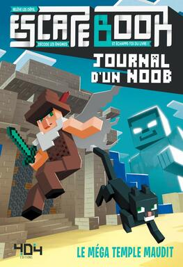 Escape Book: Journal d'Un Noob - Le Méga Temple Maudit