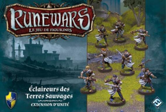Runewars: Le Jeu de Figurines - Éclaireurs des Terres Sauvages