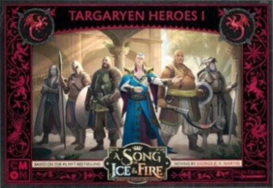 Le Trône de Fer: Le Jeu de Figurines - Héros Targaryen I