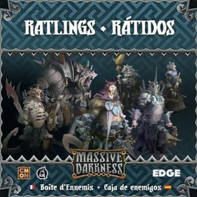 Massive Darkness: Boîte d'Ennemis - Ratlings