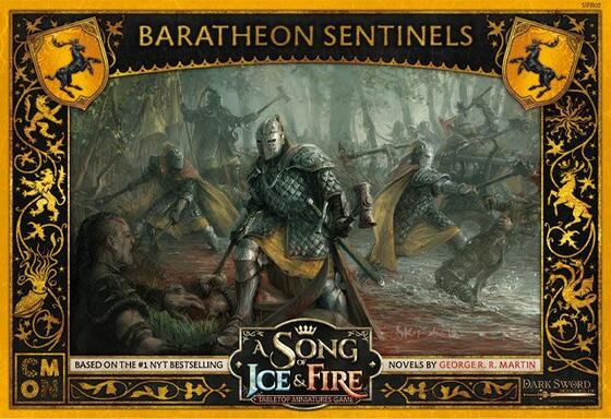 Le Trône de Fer: Le Jeu de Figurines - Sentinelles Barathéon