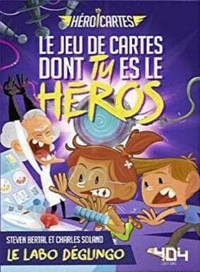 Héroi'Cartes: Le Labo Déglingo