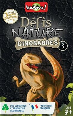 Défis Nature: Dinosaures 3