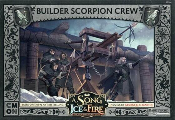Le Trône de Fer: Le Jeu de Figurines - Scorpion et Équipage de Constructeurs