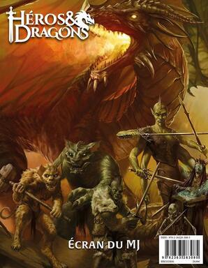 Héros & Dragons: Écran du MJ