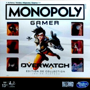 Monopoly: Gamer - Overwatch - Édition de Collection