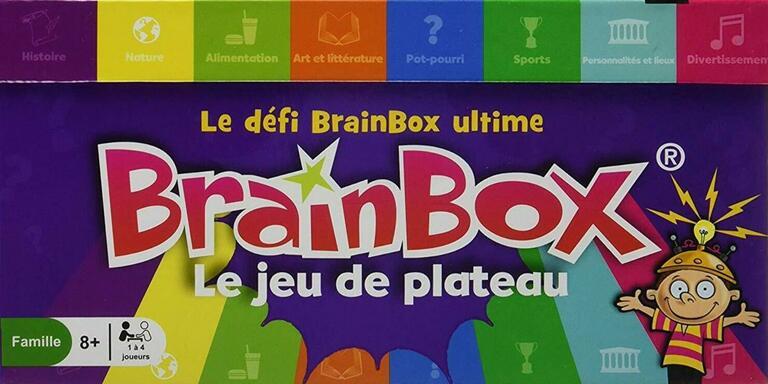 BrainBox: Le Jeu de Plateau
